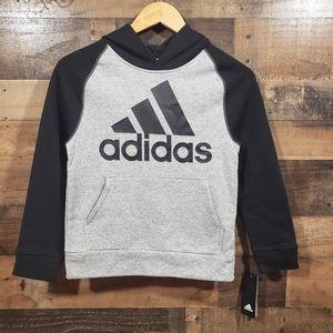 Adidas NWT hooded sweatshirt with large logo